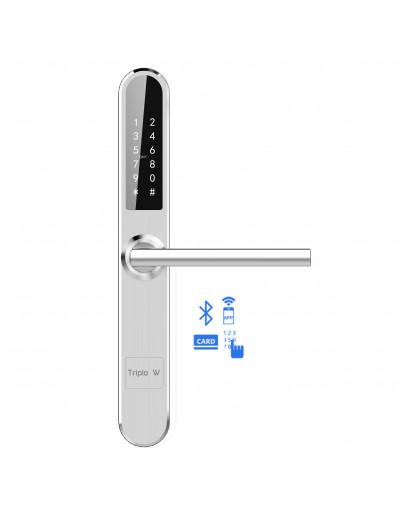 Electronic lock, keyboard/card/app, waterproof, stainless steel